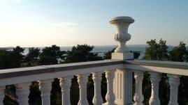 Villa Sirene Ferienwohnung: Blick von der Dachterrasse