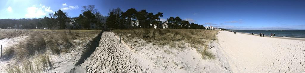 Dünen-/Strand-Panorama