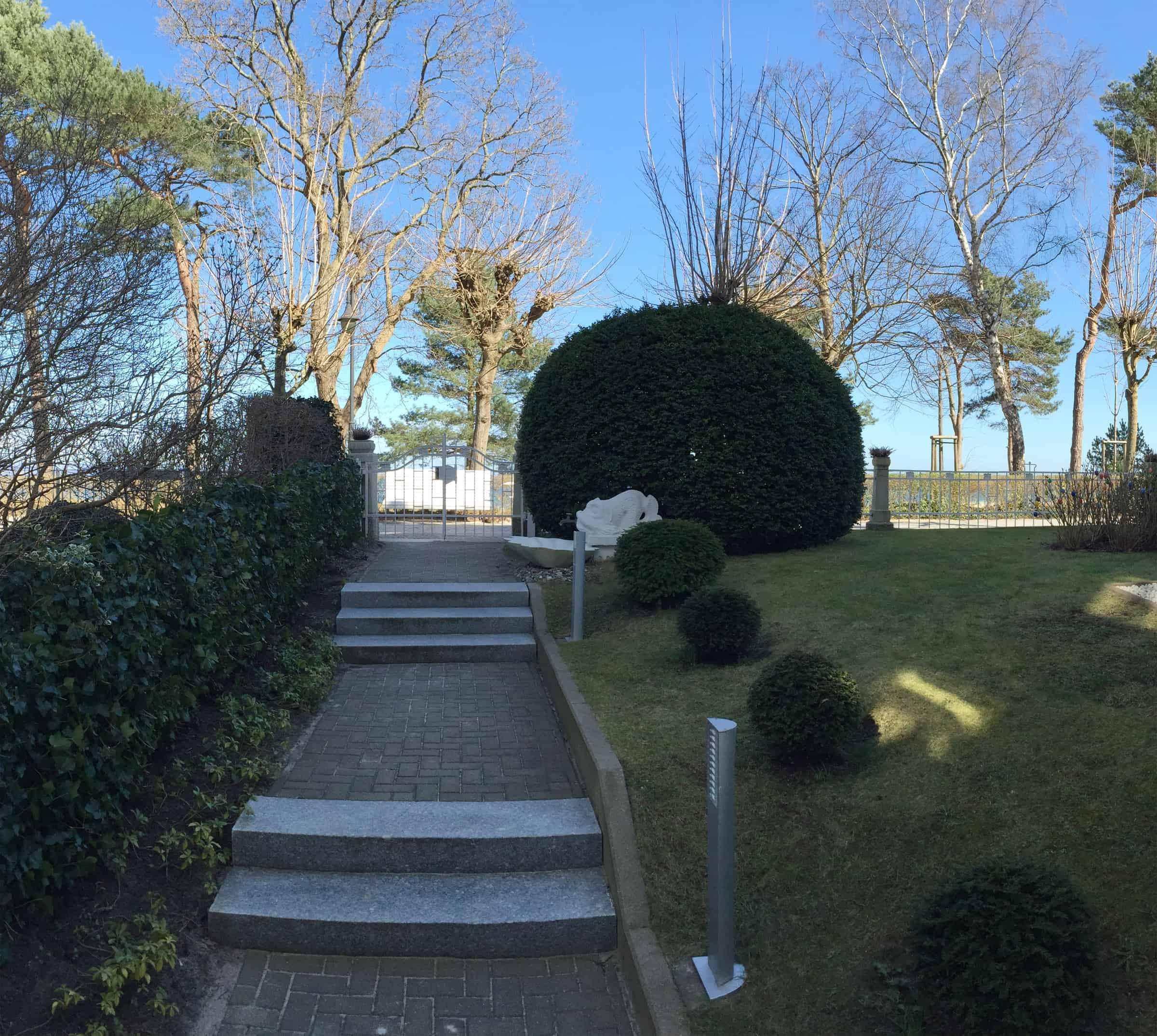 Villa Sirene Binz - Außenanlage