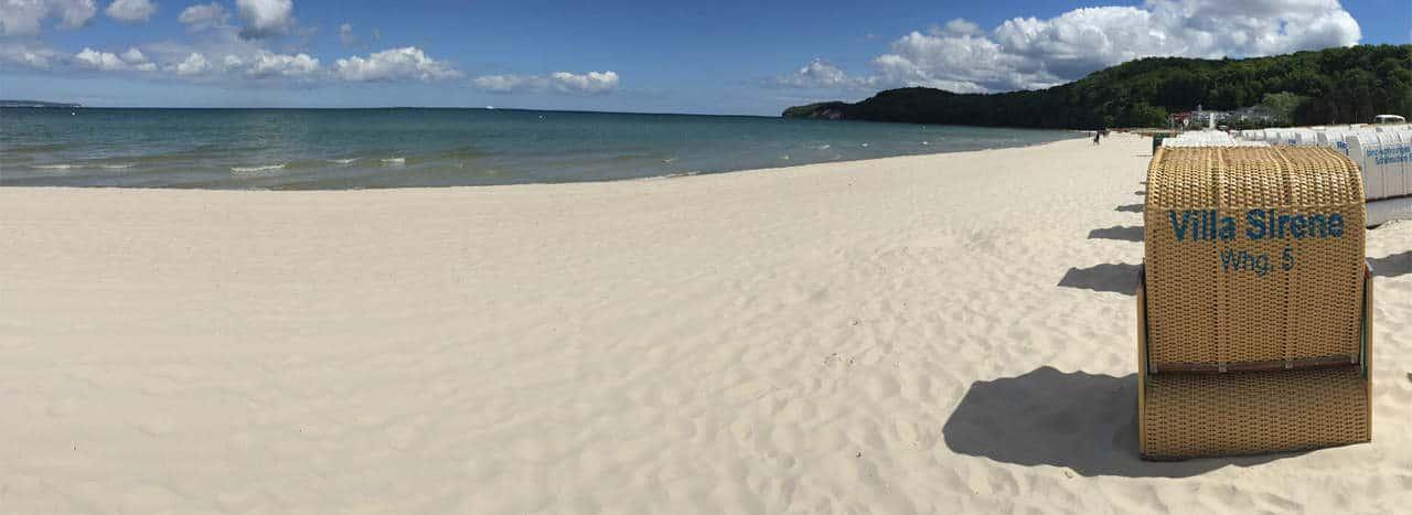 wonungseigener Strandkorb