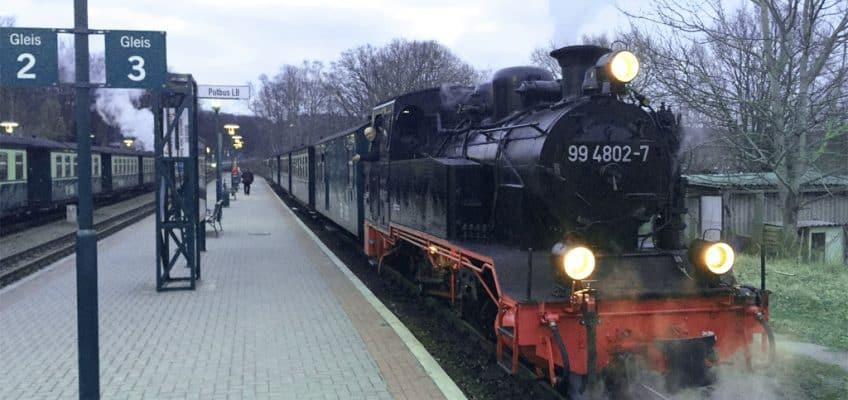 """Schmalspurdampfbahn """"Rasender Roland"""""""